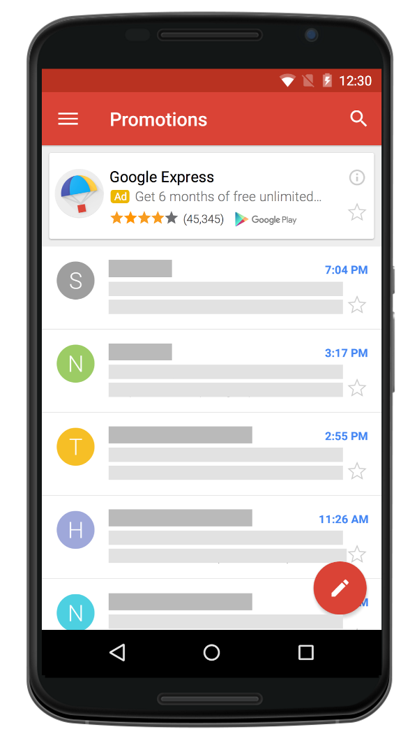 Google's universal app campaigns