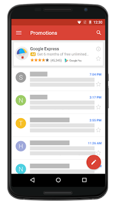 New Gmail placement launching in 2016