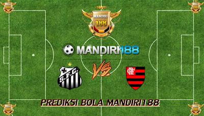 AGEN BOLA - Prediksi Santos vs Flamengo 3 Agustus 2017