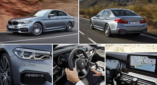 2017 BMW 520d, 530d Four and Six-Cylinder Diesel Engines