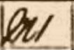 Picture of an 'M1' on a census page