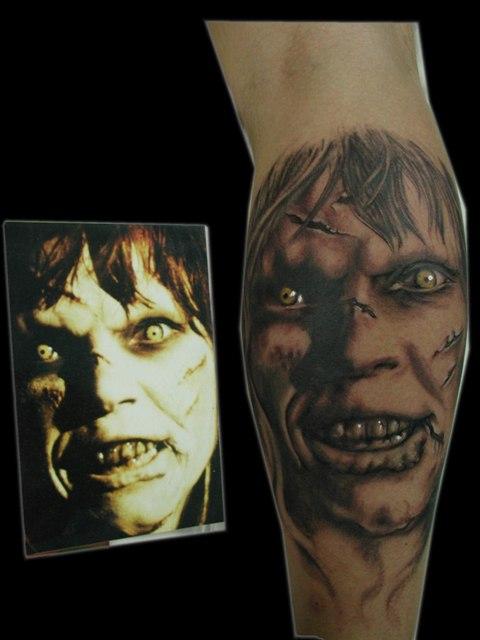 Tatuaje de El exorcista