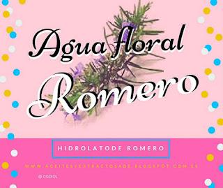 Agua de  Romero