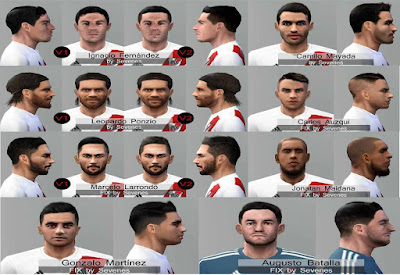 PES 6 River Plate 2018 Face-Pack FiX