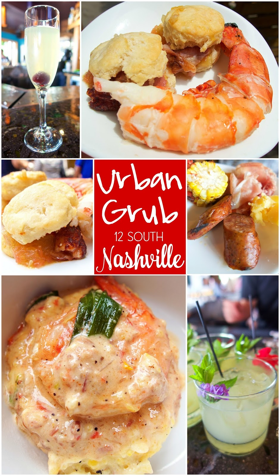 Urban Grub - 12 South Nashville - homemade charcuterie, fresh fish and dry aged steaks. They have something for everyone!