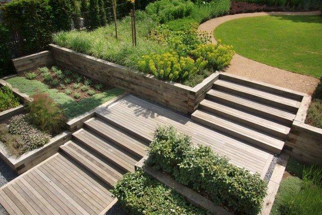 Muros En El Jardin - Muros-jardin