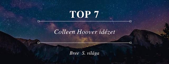 TOP 7 #Colleen Hoover idezet