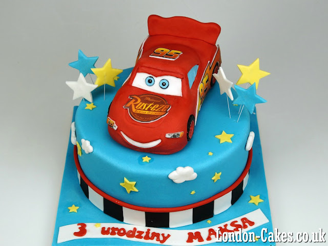 Lightning McQueen Cake, London