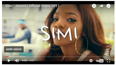 VIDEO: Simi – Joromi [Mp4 Download]