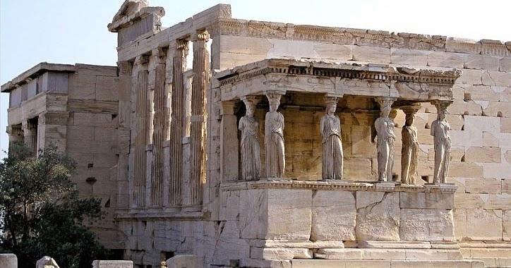 Arch161 Erechtheion Athens Greece 406bc 421bc