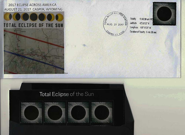 Some memorabilia of the August 21 Eclipse