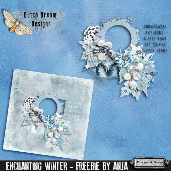 ENCHANTING WINTER & FREEbie