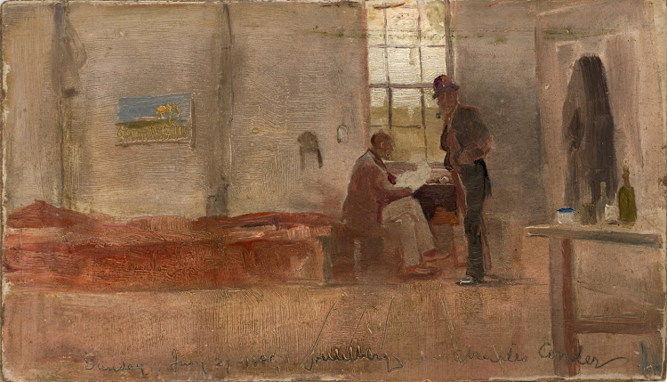 Charles Conder - Impressionists camp