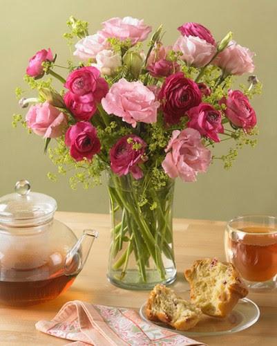 Dicas para decorar com flores ~ Decoração e Ideias  casa e jardim -> Decoracao De Banheiro Com Flores Artificiais