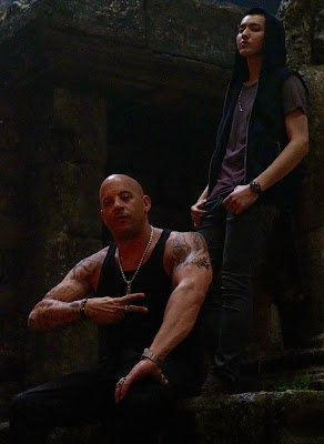 Vin Diesel and Kris Wu on the set of xXx: Return of Xander Cage (17)
