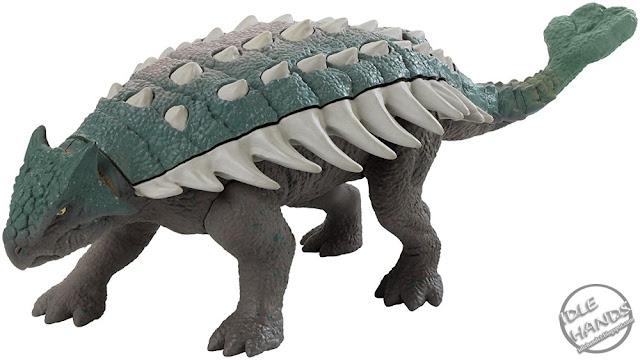 Mattel Jurassic World Toys Roarivores Ankylosaurus 01