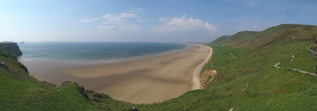 Rhossili Bay, Gower - Swansea 2016