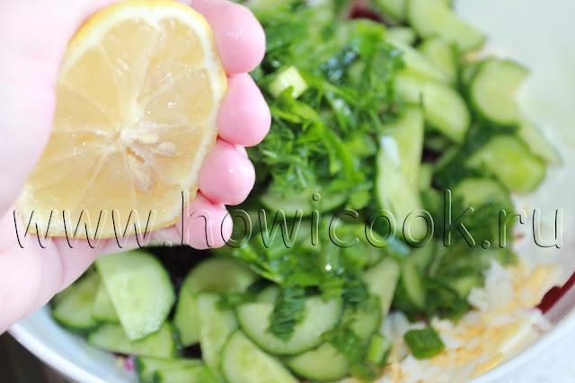 рецепт холодного борща с пошаговыми фото