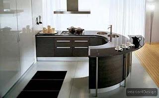 Round Countertop Kitchen 3