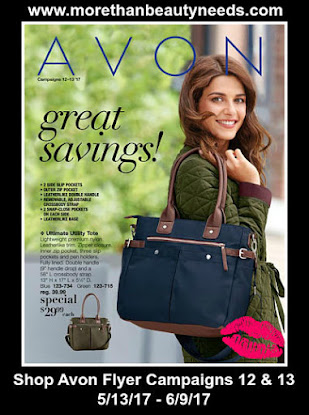 Shop Avon Flyer Campaign 12 & 13 good through 6/9/17
