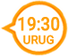 Horario transmisión para Uruguay.