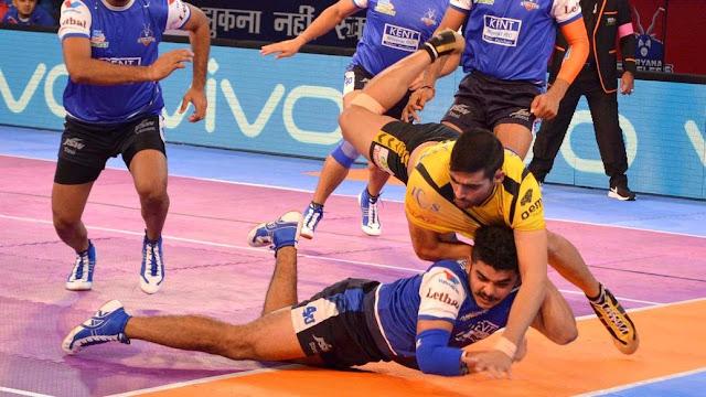 Telugu Titans hammer Haryana Steelers