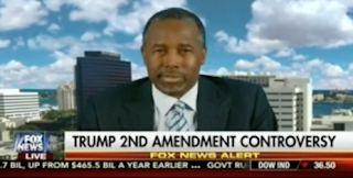 Ben Carson Blames The Media For Outrage Over Trump's 2nd Amendment Comment