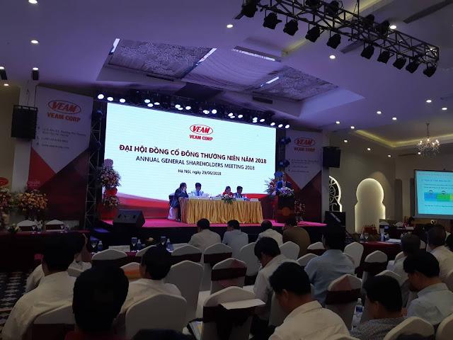 đại hội cổ đông VAEM 2018