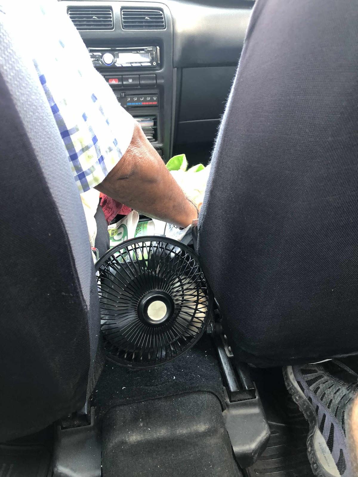 ar condicionado no táxi em Lima