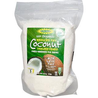 جوز الهند العضوي منخفض الدهون Edward & Sons, Organic Coconut, Reduced Fat, Unsweetened, 8.8 oz (250 g)