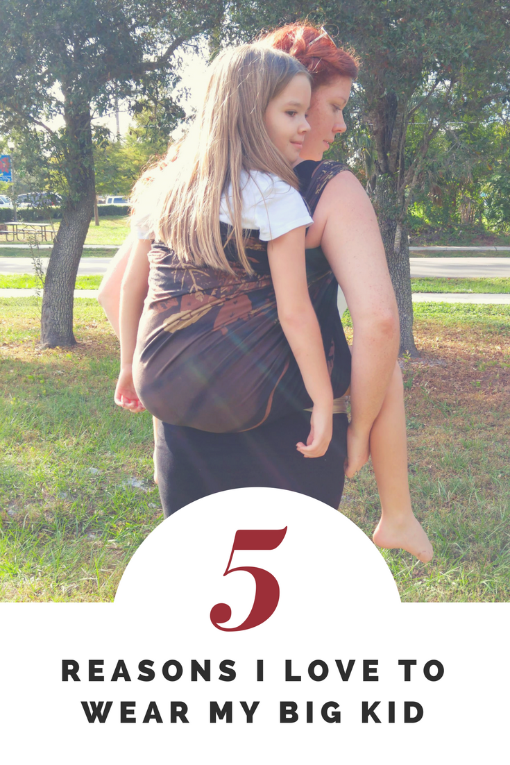 5 Reason I Love To Wear My Big Kid
