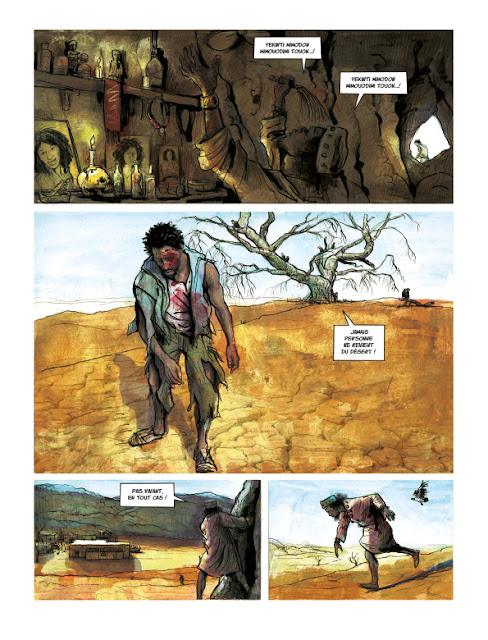 Terre Gâtée tome 1 Page 13 aux éditions Rue de Sèvres