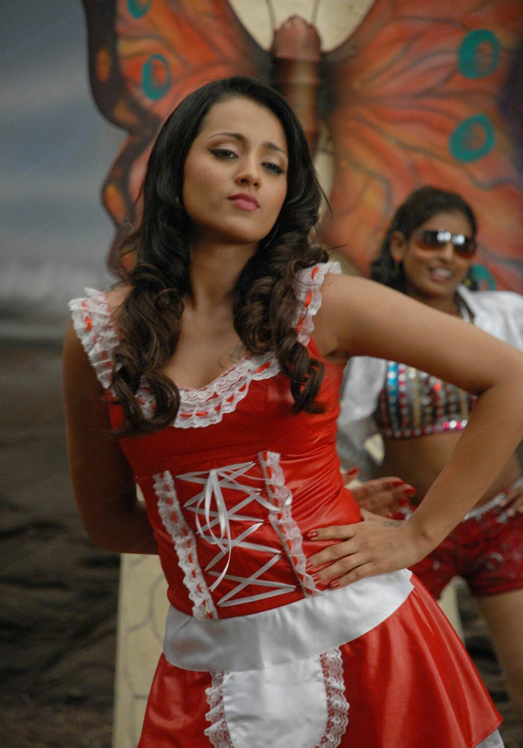 Most Sexiest 100 Sexiest Photos Of Trisha Krishnan Hot Navel  Cleavage Collection -2040