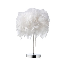 Feather Lamp Shade