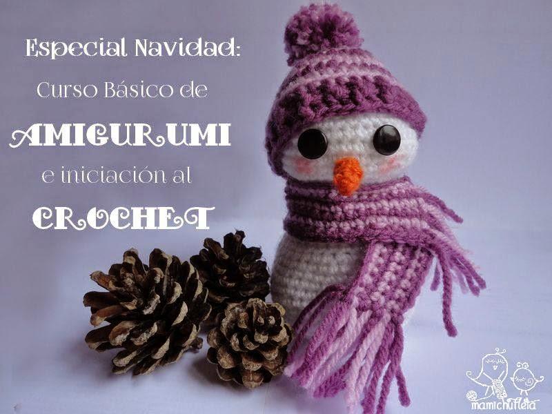 Curso básico amigurumi e iniciación al crochet