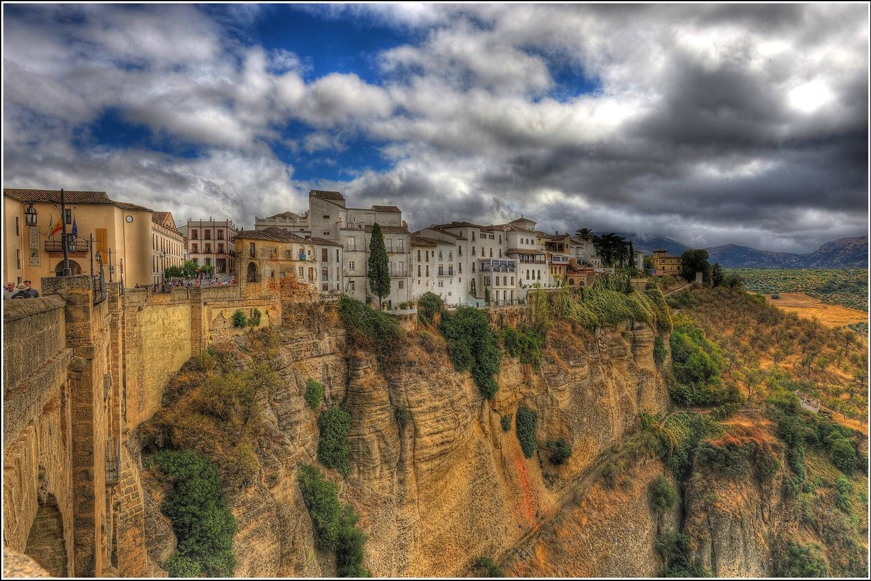 Ronda Spain, European's Most Magnificent Village 3D View