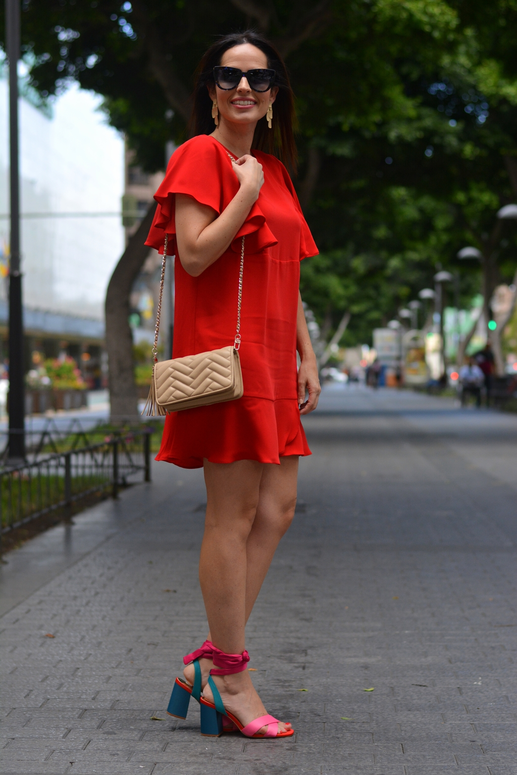 mango-red-dress-outfit-streetstyle