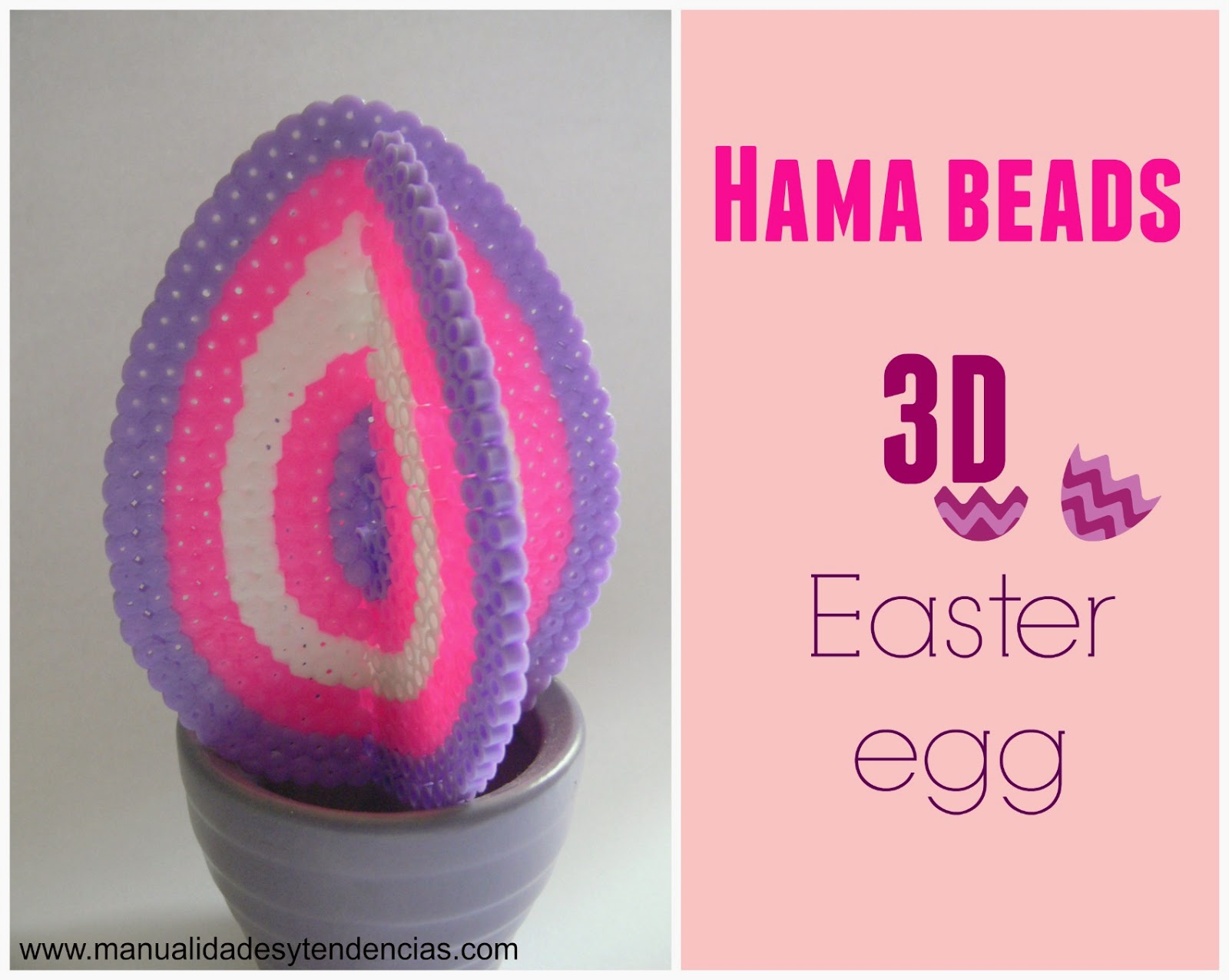 hama beads easter egg