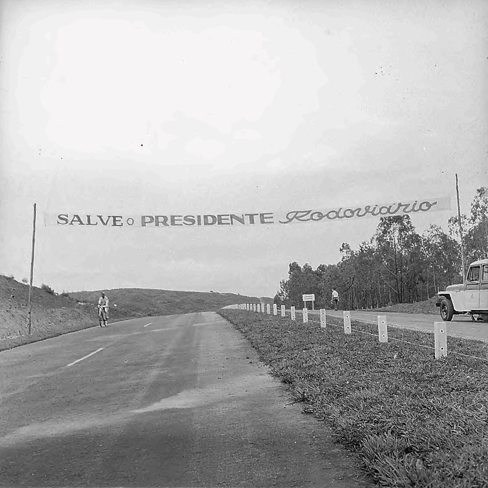 548094d8a Inauguração da Rodovia Fernão Dias, 1959 ~ Curral del Rey