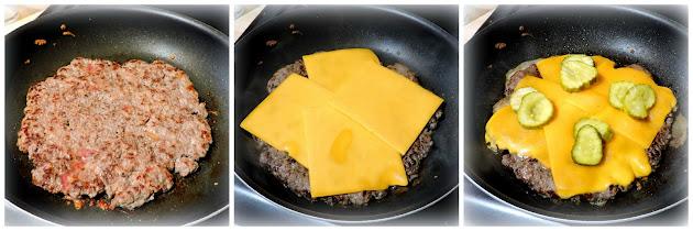 Quesadilla Cheese Burgers