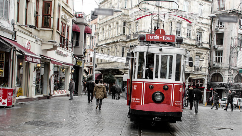 Turkey Tourism Istiklal Street