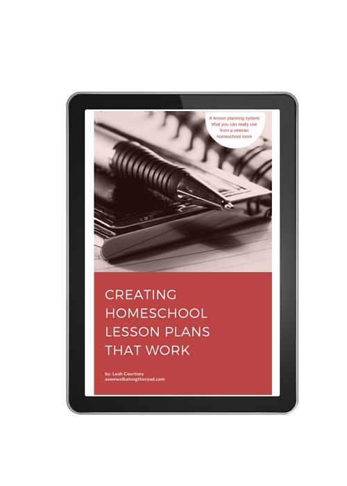 Step by step homeschool lesson planning