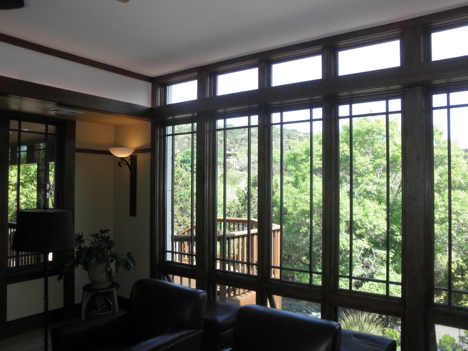 Craftsman Window Grid Window Seat Pinterest