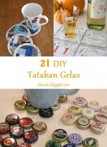 20 Ide Membuat Tatakan Gelas Sendiri