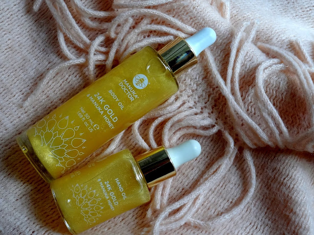 Manuka Doctor 24k Gold & Manuka Honey Body and Hand Oil