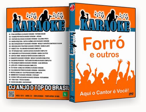 CAPA DVD – karaoke Forró & Outros – ISO
