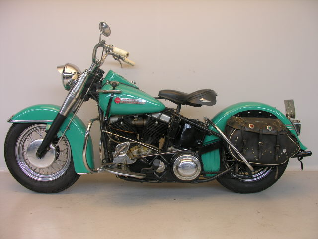 [Photos] Harley Davidson FL Hydra Glide 1200cc 1949