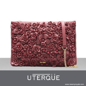 Queen Letizia Style UTERQUE Clutch Bag