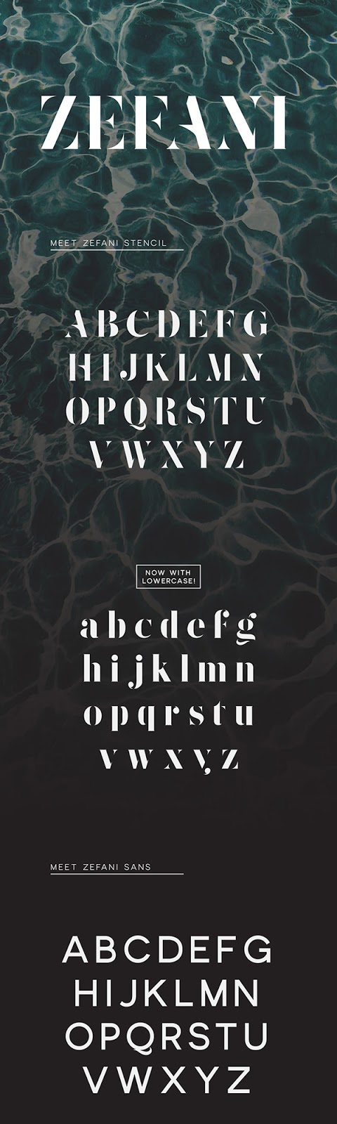 Download Gratis Font Terbaru September 2015 - Zefani Typeface