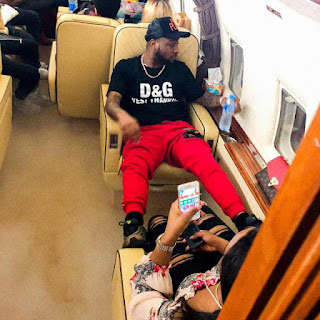 Lovely!!!  Davido Takes His Girlfriend, Chioma To Work